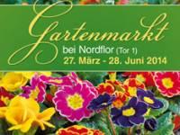 Flyer Nordflor Gartenmarkt