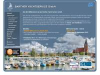 Internetseite Barther Yachtservice