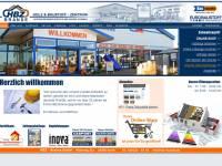 Internetseite HBZ Branse GmbH