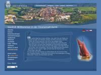Internetseite Stadt Barth