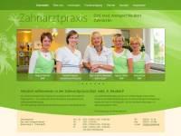 Internetseite Zahnarztpraxis Neubert